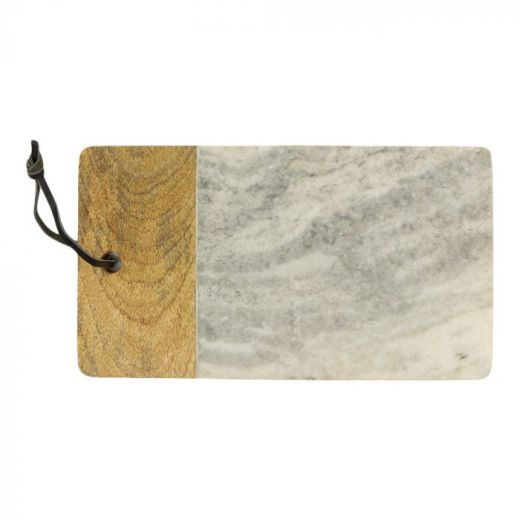 Serving board wood marble Maika