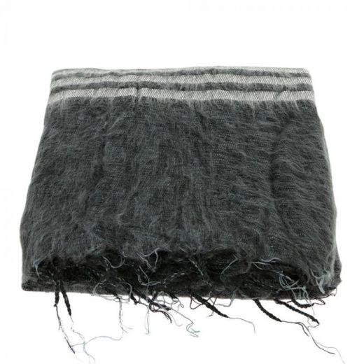 Plaid stripes black-grey Lauren