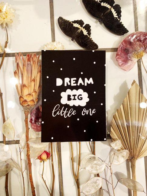 PAND LABEL WENSKAART | DREAM BIG