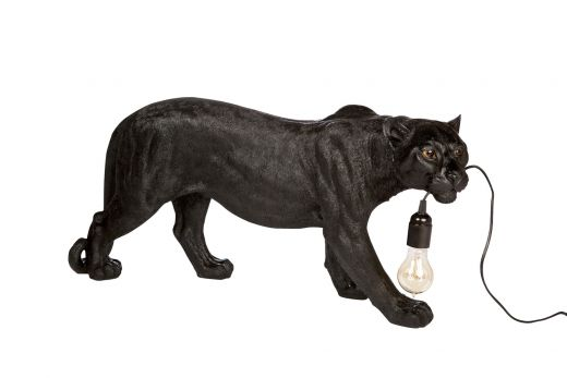 Luipaard Zwart Vloerlamp