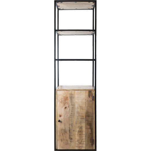 Vakkenkast Cil 200 x 55 cm - Met deurtje