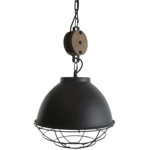Hanglamp Burns Black