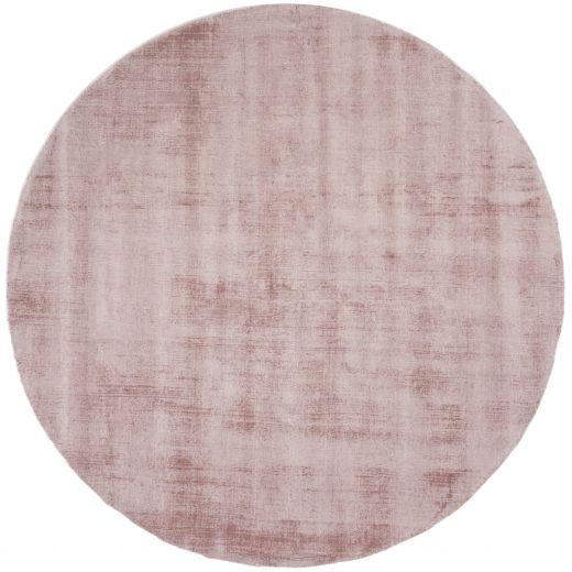 Karpet Viscose Rond Pink ø150 cm
