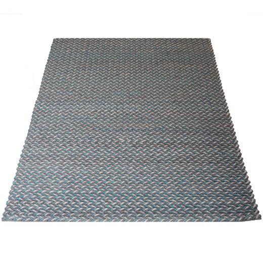 Vloerkleed Tino Petrol 200 x 280 cm
