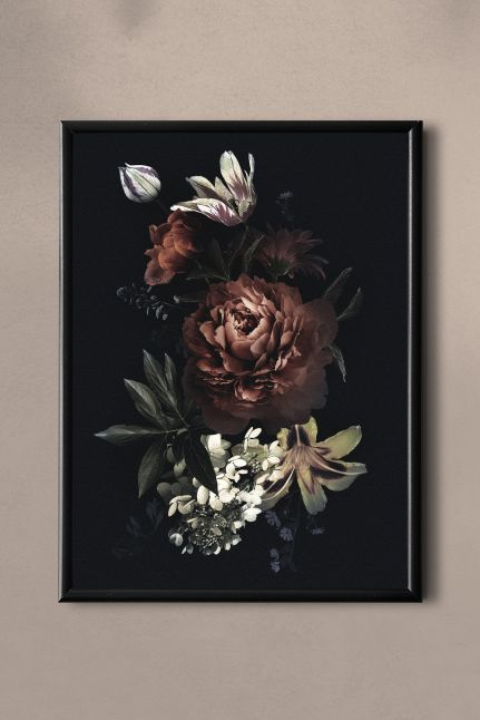 Flower Vintage kaart | a5