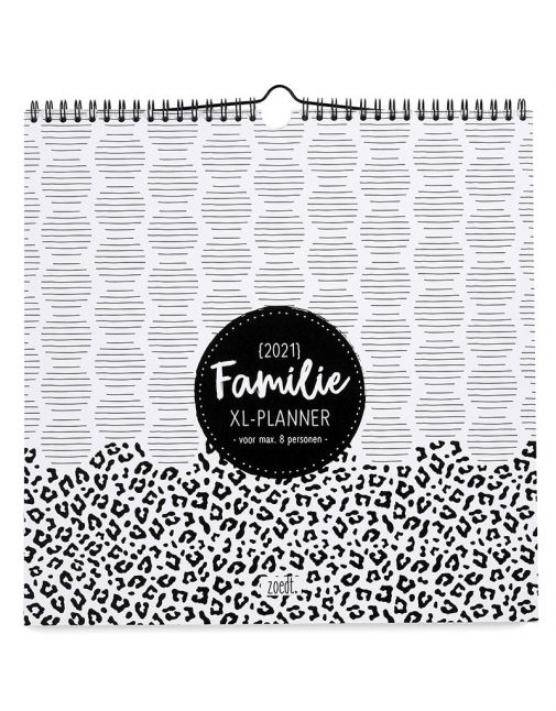 ZOEDT Familieplanner 2021 - 6 tot 8 personen