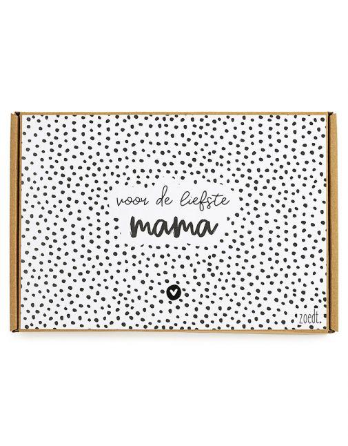 ZOEDT Moederdag cadeaupakket 'voor de liefste mama'